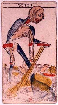 morte tarot