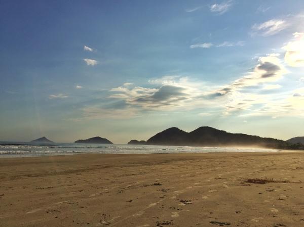 Foto: Cristina Pacino. Praia da Baleia, São Sebastião/SP