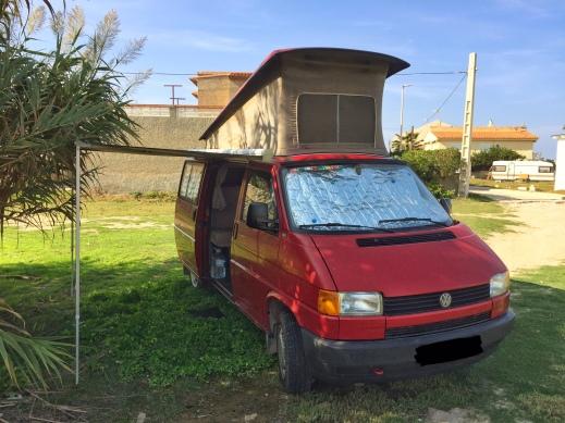 Estacionando com a porta para a vegetação há muita privacidade.